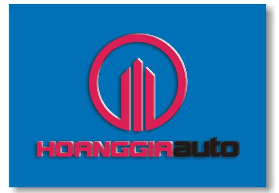 "Logo ""HOANGGIAAUTO"""