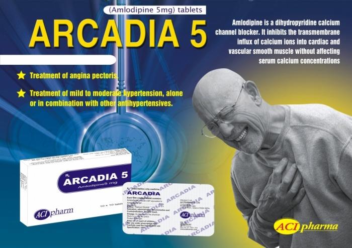 Tờ rơi ARCADIA 5