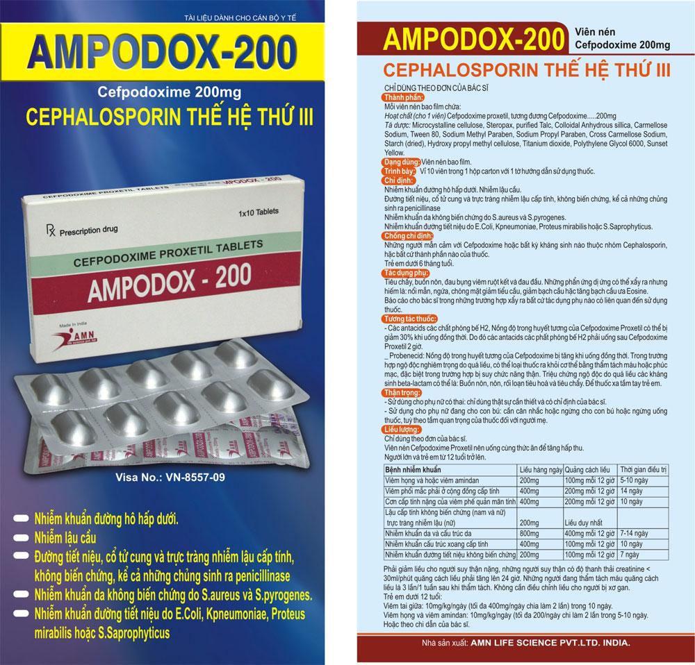 Tờ rơi Ampodox