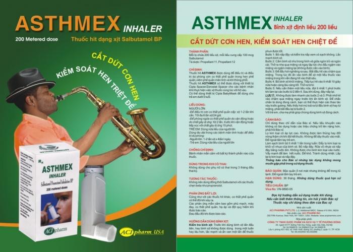 Tờ rơi ASTHMEX