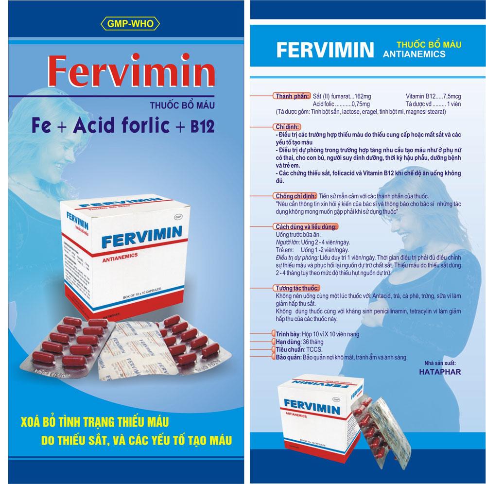 Tờ rơi Fervimin
