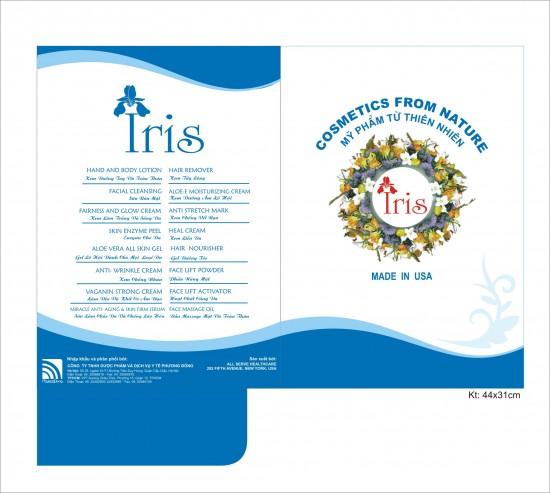 """In kẹp file """"Iris"""""""